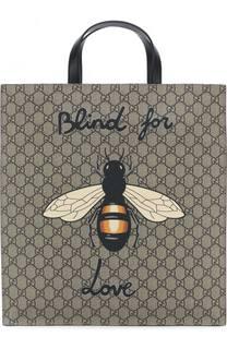 Сумка-тоут GG Supreme Bee Gucci