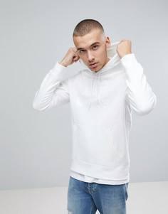 Худи белого цвета Nike SB Icon 846886-100 - Белый