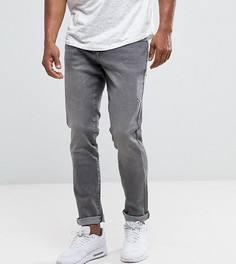 Серые джинсы слим Brooklyn Supply Co - Серый