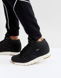 Черные кожаные кроссовки средней высоты Reebok Classic GTX BS7883 - Черный