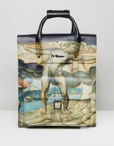 Кожаный рюкзак с принтом картины Уильяма Блейка Dr Martens - Мульти