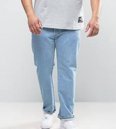 Светлые джинсы прямого кроя Levis PLUS 501 - Синий