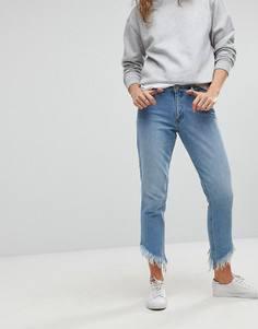 Прямые джинсы с бахромой Only - Синий