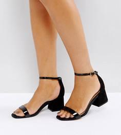 Босоножки на каблуке ASOS HONEYDEW - Черный