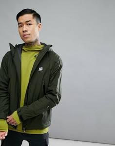 Зеленая горнолыжная куртка 66o North - Зеленый