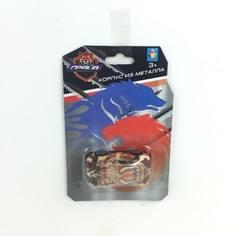Машинка металлическая 1Toy «Драйв» Animals 8 см