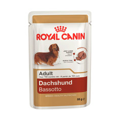 Корм ROYAL CANIN Adult Dachshund Паштет 85g для собак 143012