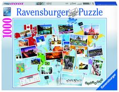 Пазл Ravensburger Воспоминания о путешествиях 19643