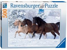 Пазл Ravensburger Галопом по снегу 14140