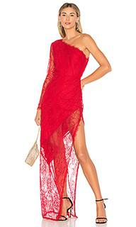 Вечернее платье с открытым плечом yara - Lovers + Friends
