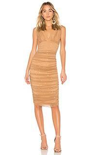 Платье со стразами tara - Norma Kamali