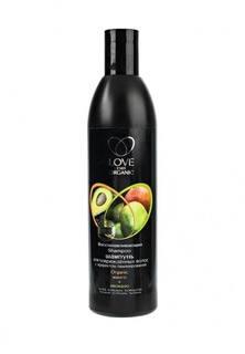Шампунь Natura Siberica Love 2mix organic для повреждённых Восстанавливающий Манго+авокадо, 360 мл