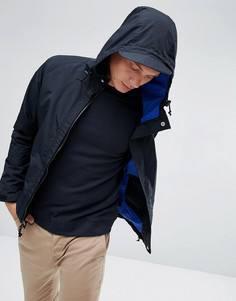 Черная непромокаемая куртка с капюшоном Penfield Becket - Черный