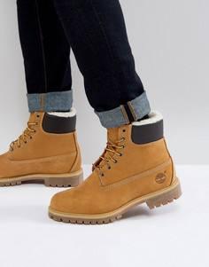 Кожаные ботинки Timberland Heritage - Коричневый