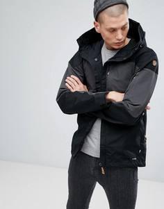Черная куртка с карманами Fjallraven Keb - Черный