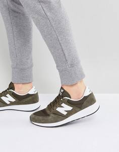 Зеленые кроссовки New Balance 420 Revlite MRL420SX - Зеленый