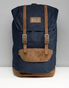 Темно-синий рюкзак с логотипом Jack Wolfskin Earlham - Темно-синий