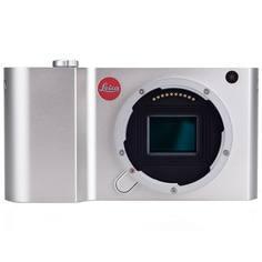 Фотоаппарат системный премиум Leica T Silver (18181)