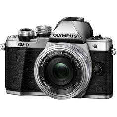 Фотоаппарат системный Olympus OM-D E-M10 Mark II Kit Silver