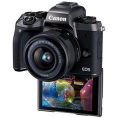 Фотоаппарат системный премиум Canon EOS M5 EF-M15-45 IS STM Kit