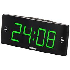 Радио-часы Telefunken TF-1587 Black/Green