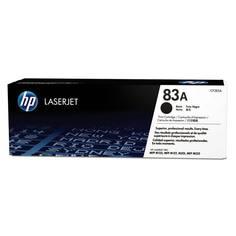 Картридж для лазерного принтера HP 83A LaserJet, черный CF283A