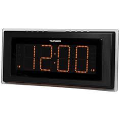 Радио-часы Telefunken TF-1541 Black/Orange