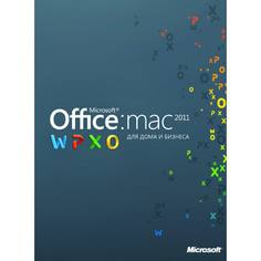ПО Office H&B Mac 2011 Microsoft