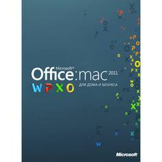 ПО Office H&B Mac 2011+книга Microsoft