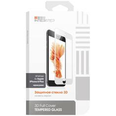 Защитное стекло InterStep для iPhone 8 Plus (IS-TG-IPH8P3DBL-000B201)