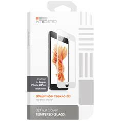 Защитное стекло InterStep для iPhone 8 Plus (IS-TG-IPH8P3DWH-000B201)