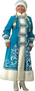 Карнавальный костюм Батик «Снегурочка» размер 44-48