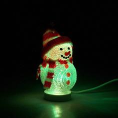 Новогодний сувенир Luazon Снеговичок 677006