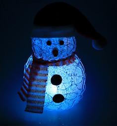 Новогодний сувенир Luazon Снеговик White 2315181