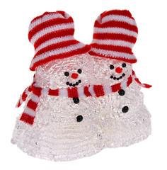 Новогодний сувенир Luazon Парочка снеговиков 1077239