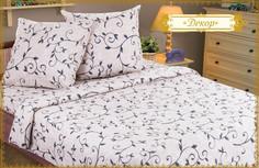 Постельное белье Этель Декор размер Комплект 1.5 спальный Бязь 1255398