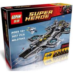 Конструктор Lepin Super Hero Щ.И.Т. Геликарриер 3057 дет. 07043