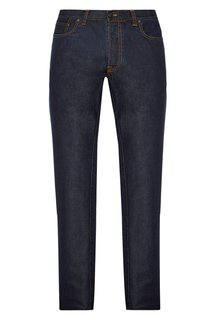Комбинированные джинсы Brioni
