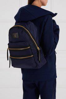 Текстильный рюкзак синий Marc Jacobs