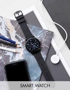 Черные смарт-часы Fossil Q FTW2103 Wander - Черный