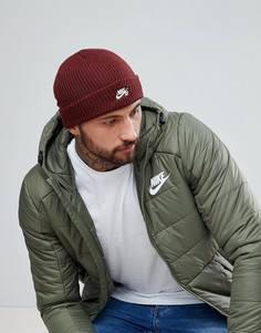 Красная шапка-бини Nike SB 628684-619 - Красный