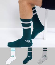 info for 9954f a75b4 3 пары носков Nike SB SX5760-910 - Мульти