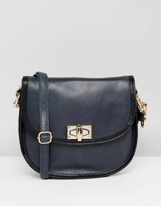 Кожаная сумка Urbancode - Темно-синий