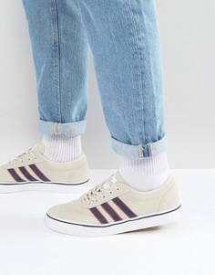 Белые кроссовки adidas Skateboarding Adi-Ease BY4030 - Бежевый