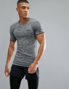 Серая футболка Craft Sportswear Active Comfort Running 1903792-9999 - Черный