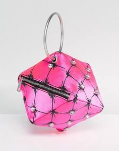 Сумка-клатч ASOS X Mary Benson - Розовый