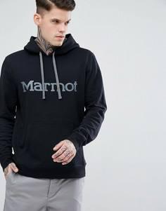 Худи черного цвета Marmot - Черный