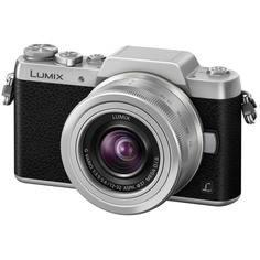 Фотоаппарат системный Panasonic Lumix DMC-GF7K Kit Silver