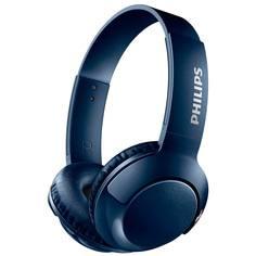 Наушники накладные Bluetooth Philips Bass+ Blue (SHB3075BL/00)
