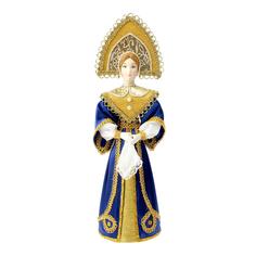 Новогодний сувенир СИМА-ЛЕНД Девушка в синем платье 1538468